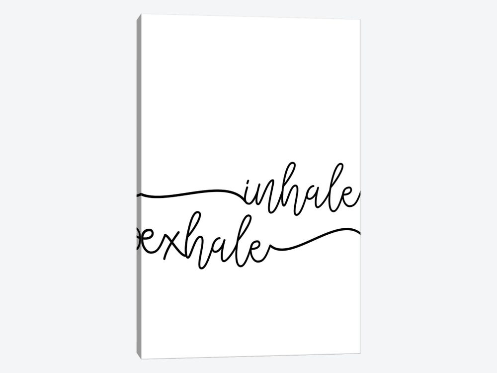Inhale x Exhale 1-piece Canvas Art