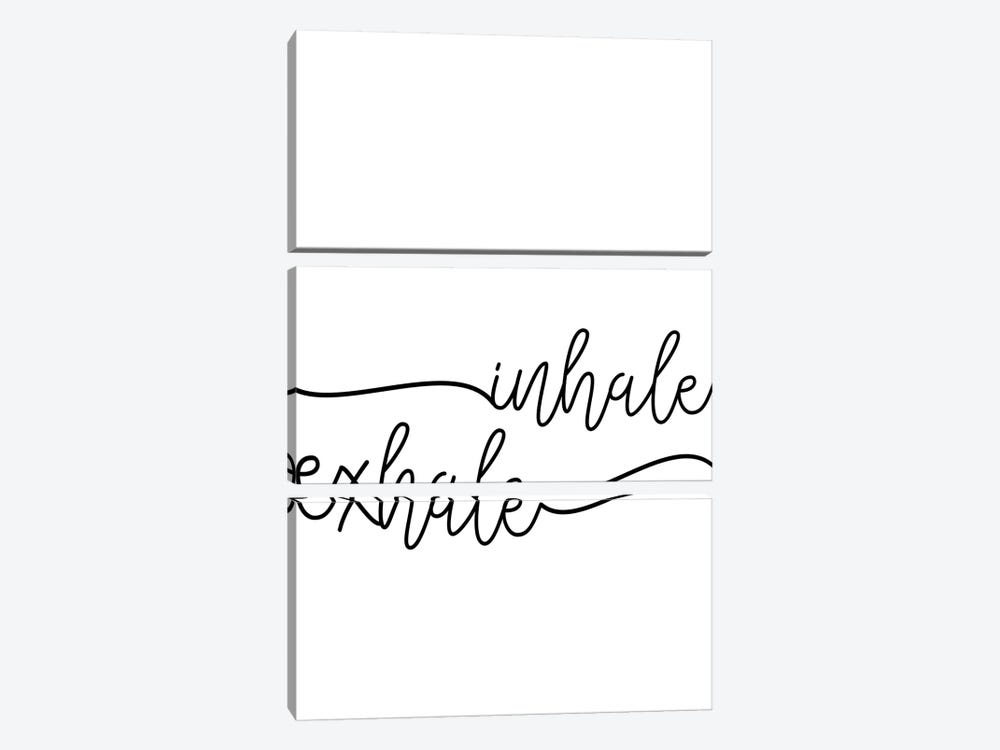 Inhale x Exhale by Sisi & Seb 3-piece Canvas Artwork