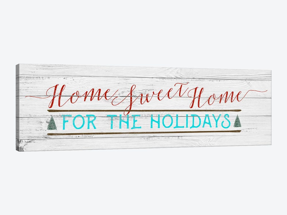 Home Sweet Home by 5by5collective 1-piece Art Print