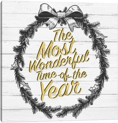 Wonderful Time Of The Year Canvas Art Print