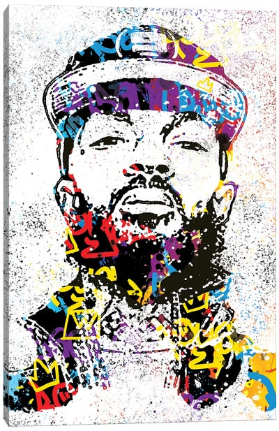 Nipsey Canvas Art Print