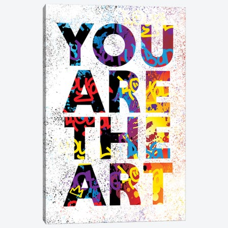 You Are The Art Canvas Print #SSK11} by Streetsky Canvas Art