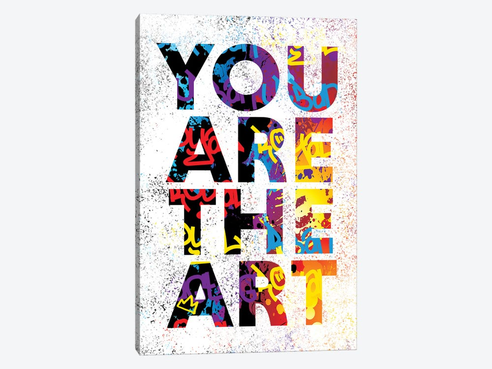 You Are The Art by Streetsky 1-piece Canvas Art Print