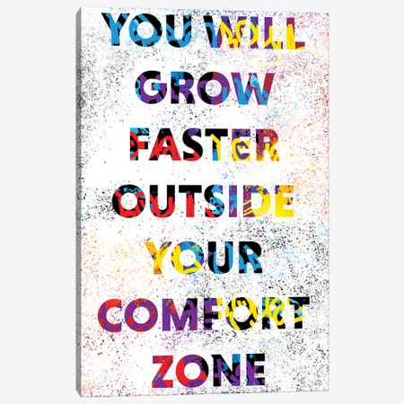 You Will Grow Canvas Print #SSK12} by Streetsky Canvas Wall Art