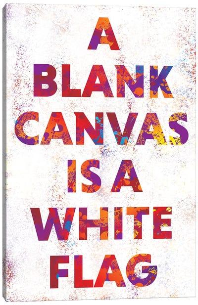 A Blank Canvas Canvas Art Print