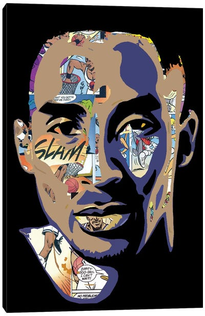 Kobe - Space Jam Tribute Canvas Art Print
