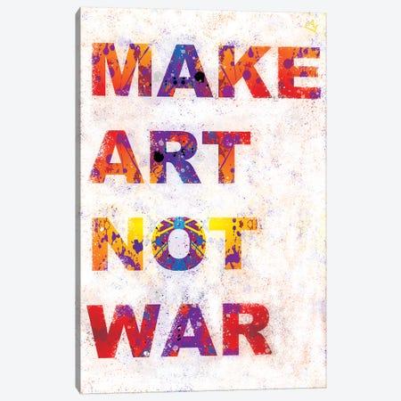 Make Art Canvas Print #SSK25} by Streetsky Canvas Artwork