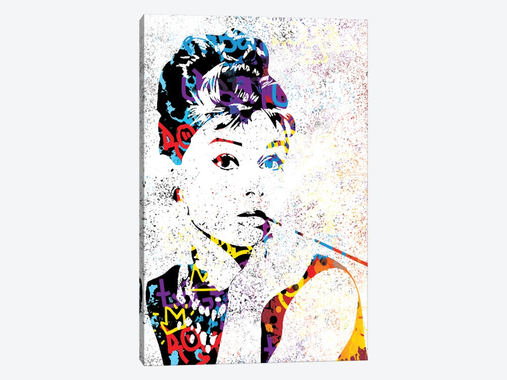 Audrey by Streetsky 1-piece Canvas Art Print