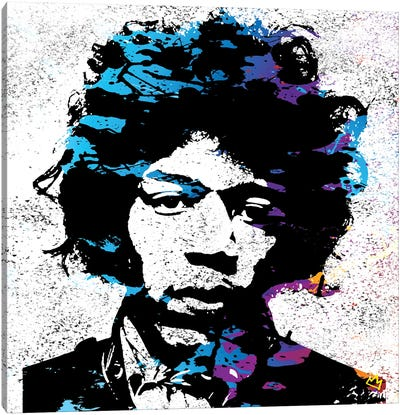 Jimmy Canvas Art Print