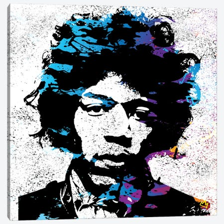 Jimmy Canvas Print #SSK8} by Streetsky Canvas Artwork