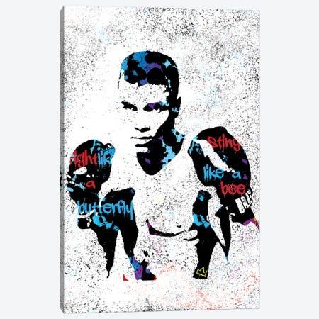 Muhammad Canvas Print #SSK9} by Streetsky Canvas Art