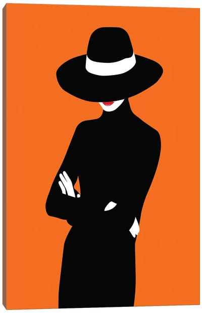 Lady No. 1 Canvas Art Print