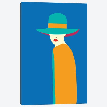 Lady No. 7 Canvas Print #SSL3} by Sean Salvadori Art Print