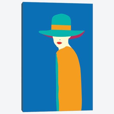 Lady No. 7 Canvas Print #SSL3} by Sean Salvadori Art Print