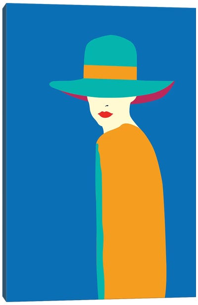 Lady No. 7 Canvas Art Print