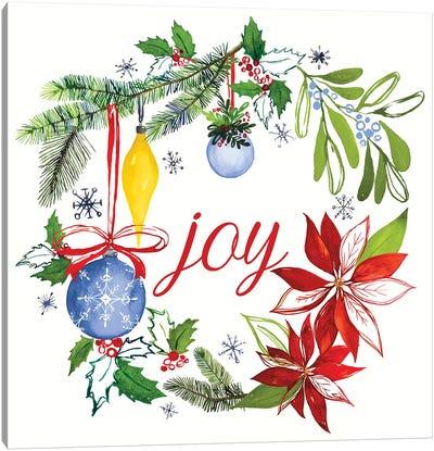 Watercolor Christmas VI Canvas Art Print