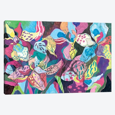 Lilly Flower Canvas Print #SSR101} by Maria Susarenko Art Print