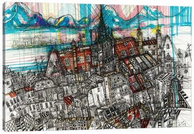 Geneve Cityscape Canvas Art Print