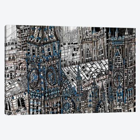 Big Ben Canvas Print #SSR10} by Maria Susarenko Canvas Print