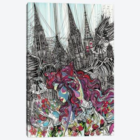 Gothic Flower Canvas Print #SSR116} by Maria Susarenko Canvas Art Print