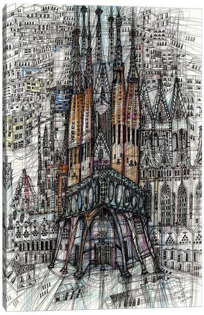 Sagrada Familia Canvas Art Print