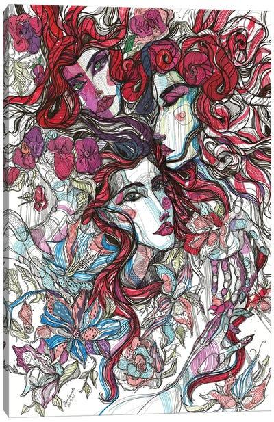 Pink Blossoms Canvas Art Print