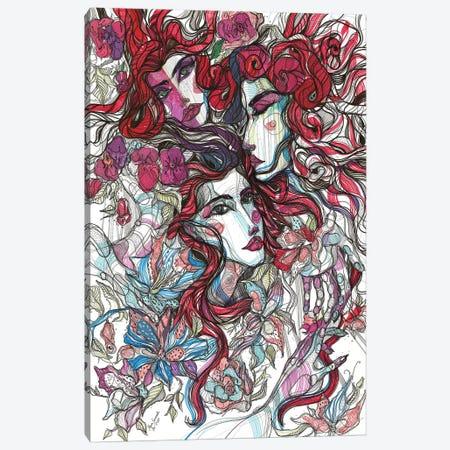 Pink Blossoms Canvas Print #SSR124} by Maria Susarenko Canvas Artwork