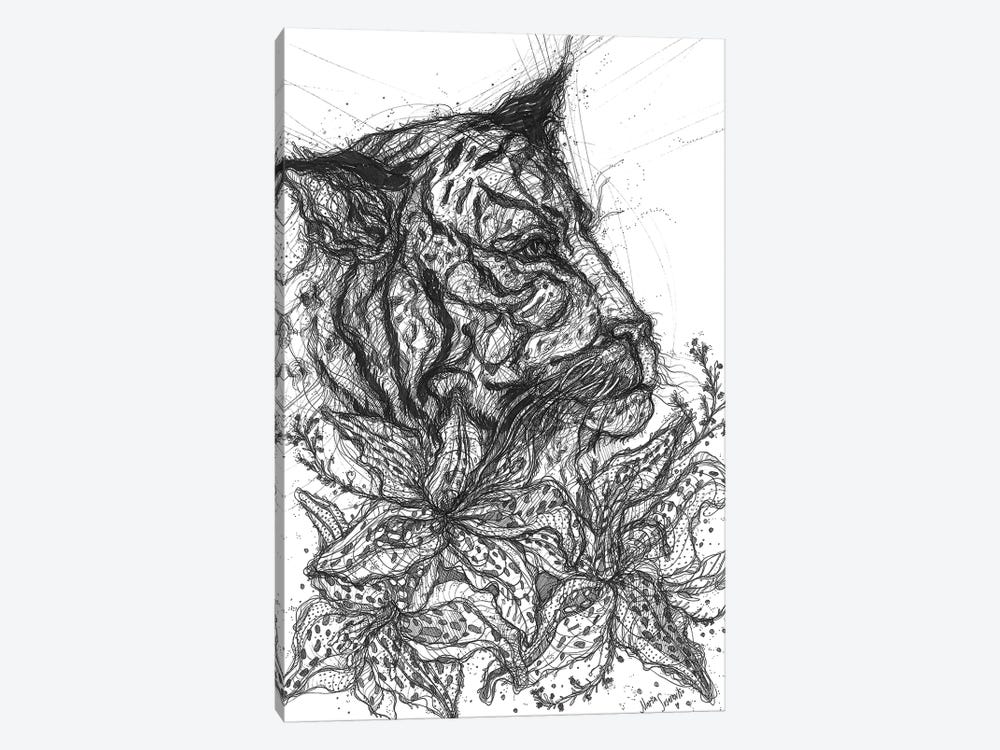 Tiger Lilly by Maria Susarenko 1-piece Canvas Art Print