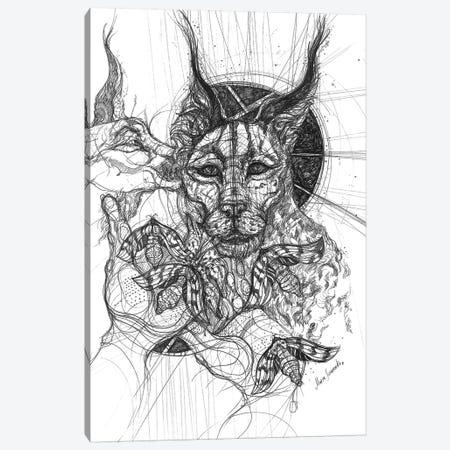 Wild Cats Canvas Print #SSR126} by Maria Susarenko Canvas Artwork