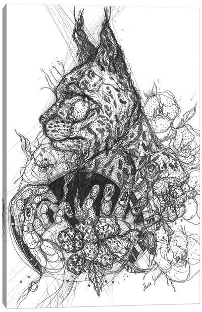 Graphic Wild Nature Canvas Art Print