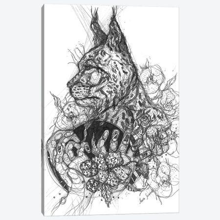 Graphic Wild Nature Canvas Print #SSR128} by Maria Susarenko Canvas Art Print