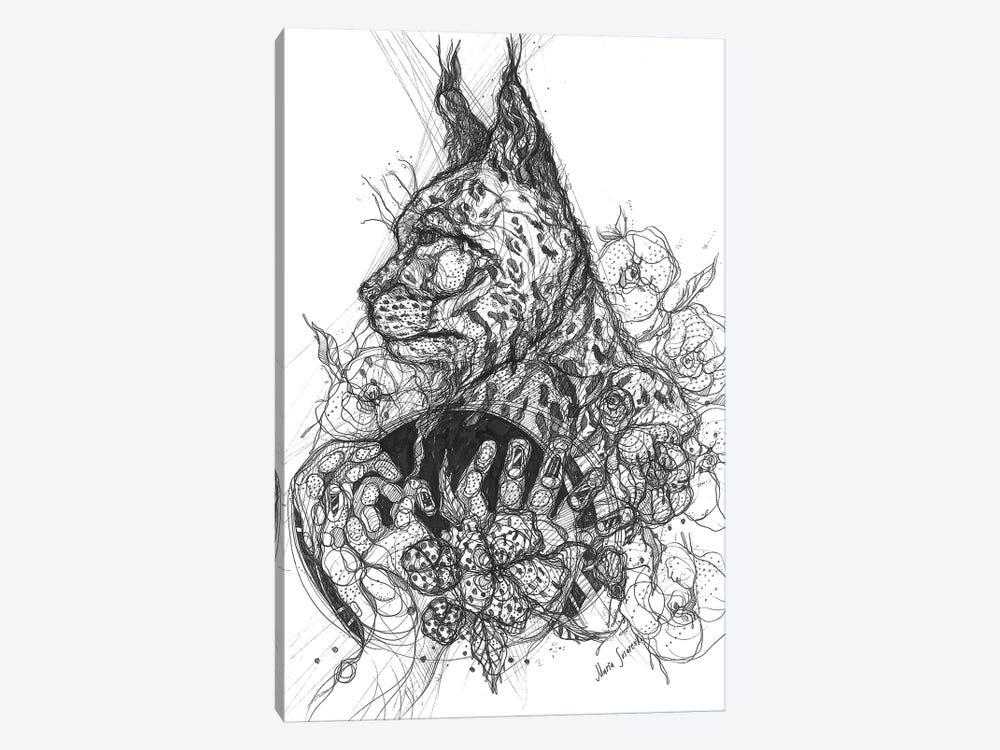 Graphic Wild Nature by Maria Susarenko 1-piece Canvas Artwork