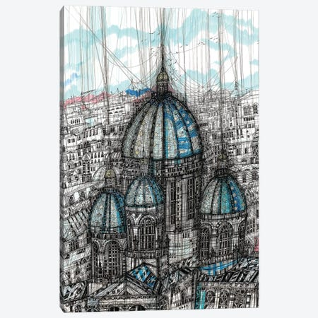 The Trinity Cathedral Canvas Print #SSR131} by Maria Susarenko Canvas Artwork