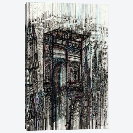 Milan Cityscape Canvas Print #SSR146} by Maria Susarenko Canvas Wall Art