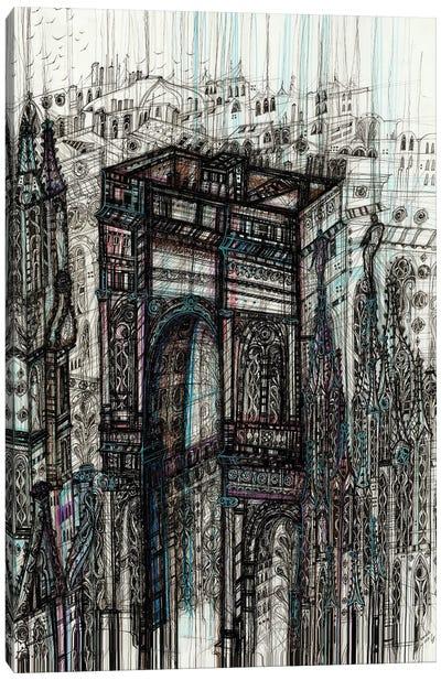 Milan Cityscape Canvas Art Print
