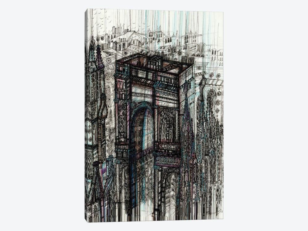 Milan Cityscape by Maria Susarenko 1-piece Canvas Art
