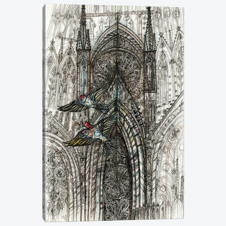 Notre Dame de Paris Canvas Print #SSR147} by Maria Susarenko Canvas Art
