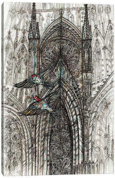 Notre Dame de Paris Canvas Art Print