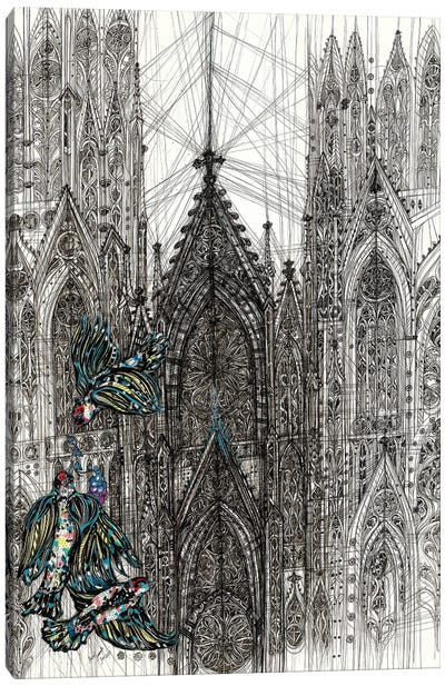 St.Patrick's Cathedral Canvas Art Print