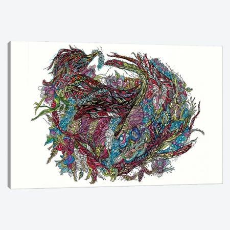 Phoenix Canvas Print #SSR149} by Maria Susarenko Canvas Art Print