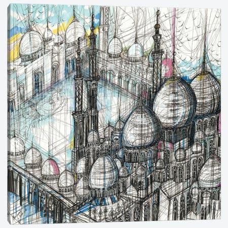 Sheikh Zayed Mosque Canvas Print #SSR154} by Maria Susarenko Art Print