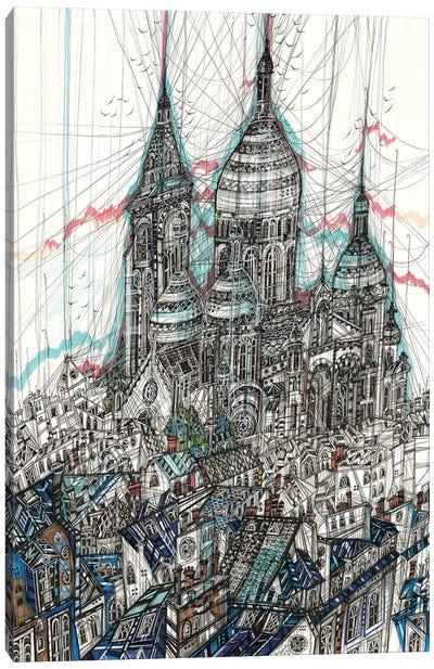 Sacre-Coeur Basilica Canvas Art Print