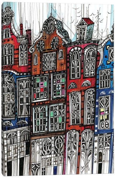 Amsterdam Cityscape II Canvas Art Print