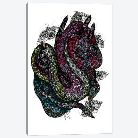 Pink Snake Canvas Print #SSR163} by Maria Susarenko Canvas Art Print