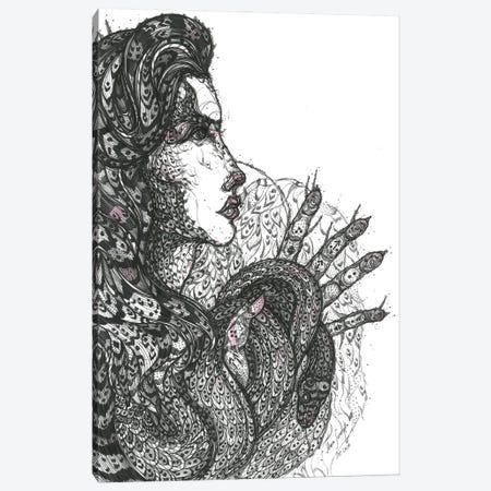 Graphic Medusa Canvas Print #SSR167} by Maria Susarenko Canvas Art