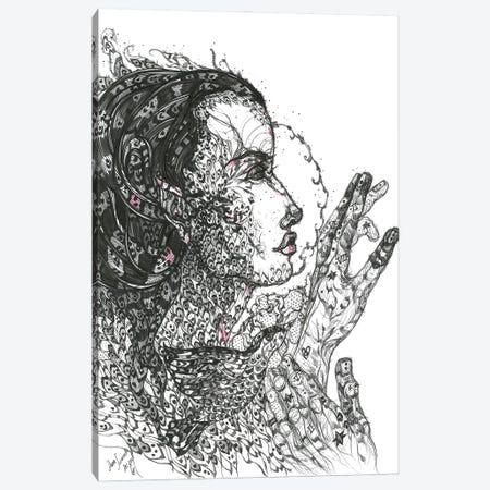 Graphic Medusa II Canvas Print #SSR169} by Maria Susarenko Canvas Art Print