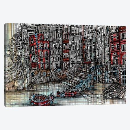 Blurred Lines Canvas Print #SSR16} by Maria Susarenko Canvas Art