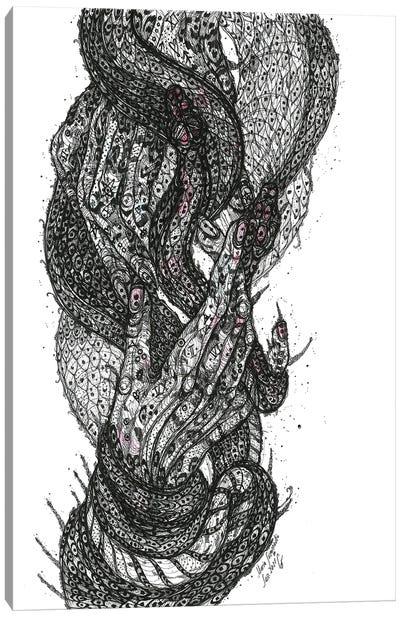 Under Your Skin Canvas Art Print