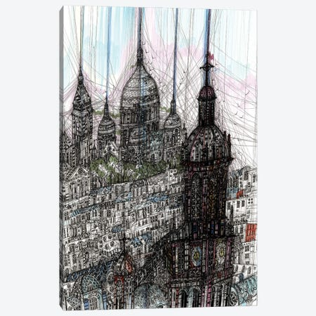 Montmartre Canvas Print #SSR191} by Maria Susarenko Canvas Artwork