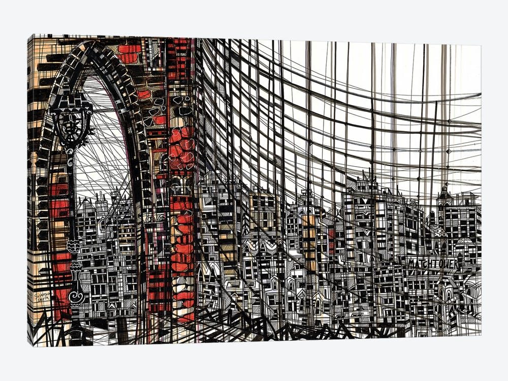 Brooklyn by Maria Susarenko 1-piece Canvas Artwork